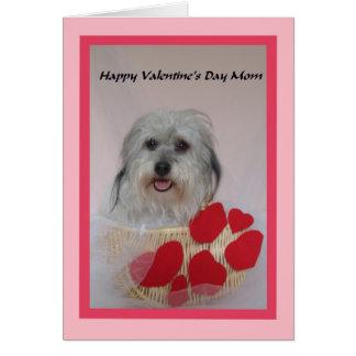 Mom Valentine -- Best Mom Card