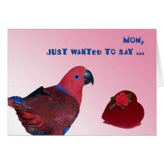 Mom Valentine Greeting Card