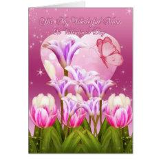 Mom Valentine's Day Card - Floral Valentine's Day at Zazzle