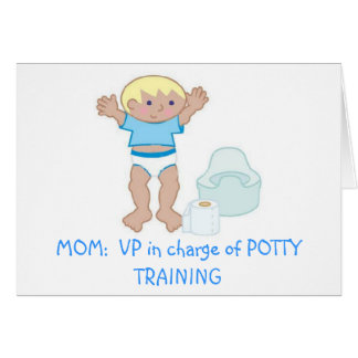 MOM: VP of Potty Training Card