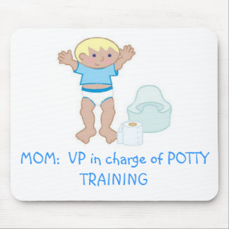 MOM: VP of Potty Training Mouse Pad