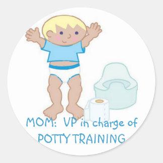 MOM: VP of Potty Training Stickers