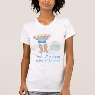 MOM: VP of Potty Training Tee Shirt