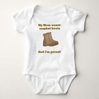Mom Wears Combat Boots Infant Creeper