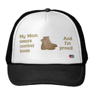 Mom Wears Combat... Trucker Hats