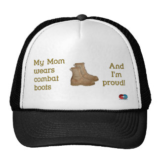 Mom Wears Combat... Trucker Hat