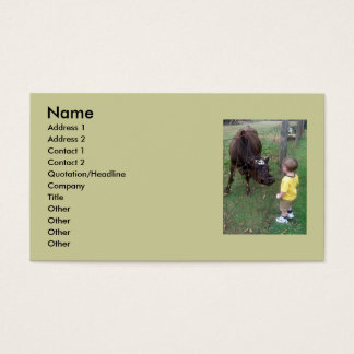 Mom, What is That? Business Card