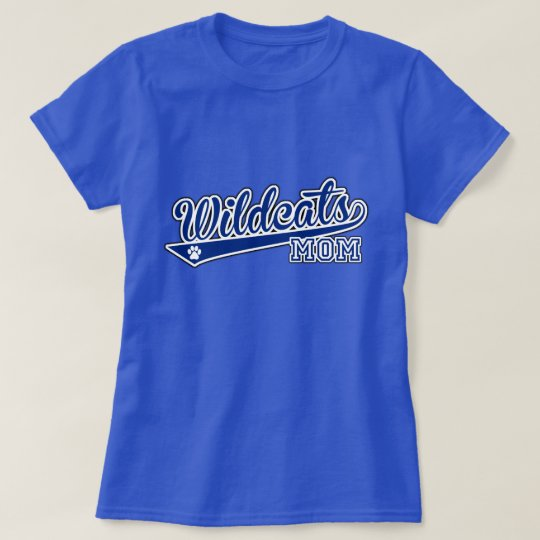 MOM Wildcats Swoop Royal SS Tee