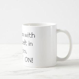 Mom with a Black Belt in Autism Coffee Mug
