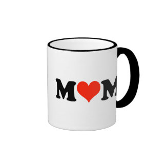 Mom with a Heart Mug