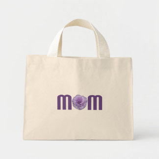 Mom with Carnation Bag