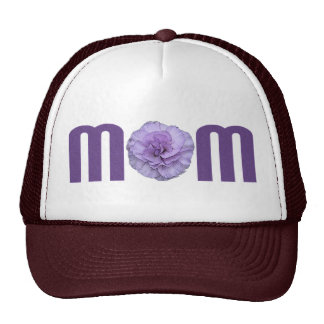 Mom with Carnation Trucker Hat