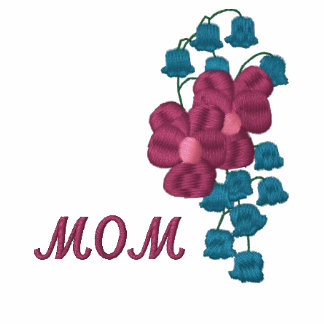 Mom with Flowers