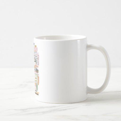 Mom Word Collage Coffee Mug