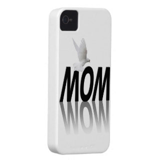 Mom Wow iPhone 4 Covers
