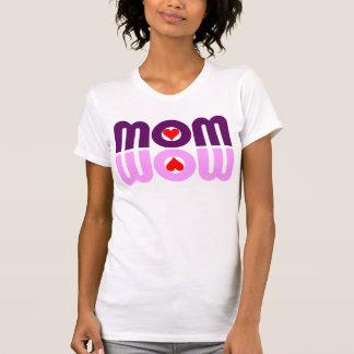 MOM WOW Hearts Reflection T Shirt