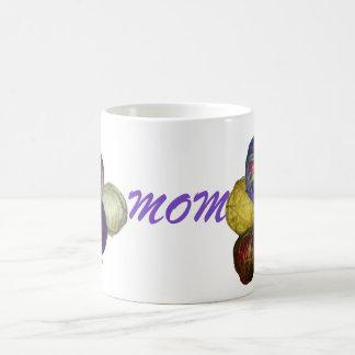 Mom Yarn Ball mug
