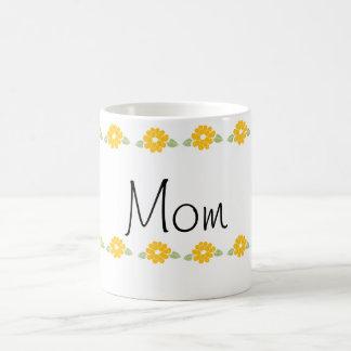 Mom Yellow Flowers Coffee Mug
