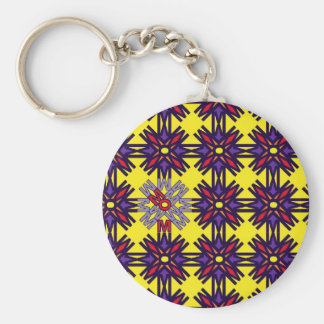 MOM Yellow Keychain