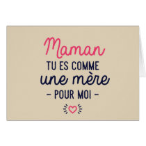 Mom, you are like a mother for me