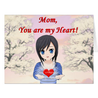Mom, You are my Heart (Customizable)