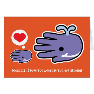Mom you are strong card
