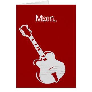 Mom, you rock card