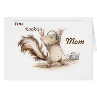 **MOM**-YOU ROCK HOPE MOTHER'S DAY DOES TOO! CARD