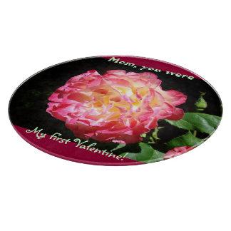 Mom you were My First Valentine cutting Boards