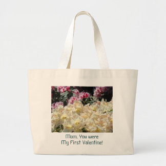 Mom You were My First Valentine! Tote bag gifts