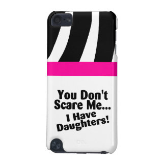 Mom Zebra Pattern Black White Speck iPod Case
