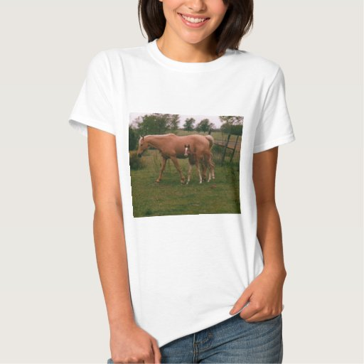 Moma horse and baby horse T-Shirt