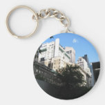 MoMA - NYC Basic Round Button Keychain