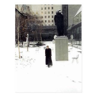 MoMA Sculpture Garden: www.AriesArtist.com Post Card