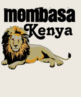 Mombasa, Kenya Custom Tshirt