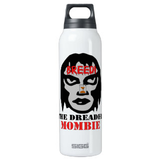 Mombie Breeder 16 Oz Insulated SIGG Thermos Water Bottle