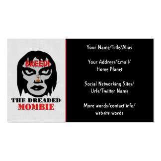Mombie Breeder Business Card