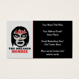 Mombie Breeder Business Card