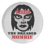 Mombie Breeder Dinner Plate