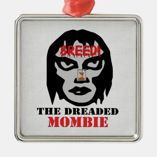 Mombie Breeder Metal Ornament