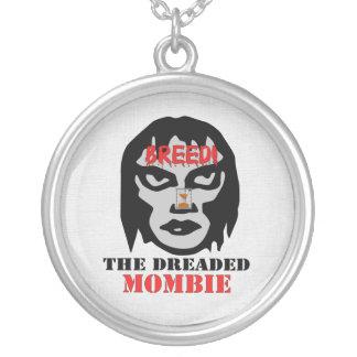 Mombie Breeder Round Pendant Necklace