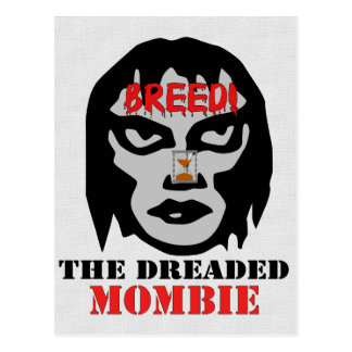 Mombie Breeder Postcard