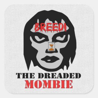 Mombie Breeder Square Sticker