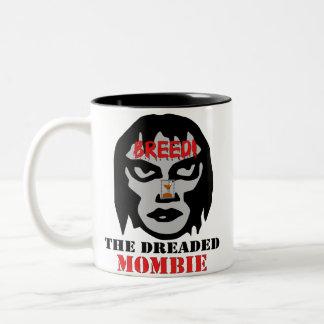 Mombie Breeder Two-Tone Coffee Mug