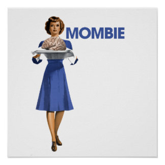 Mombie Poster