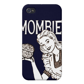 Mombie Retro Zombie Cover For iPhone 4