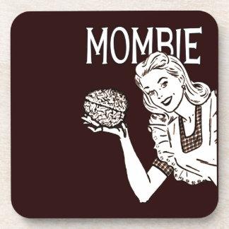 Mombie Retro Zombie Mom Coaster