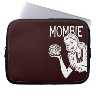 Mombie Retro Zombie Mom Laptop Computer Sleeves