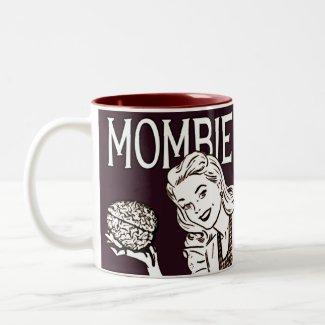 Mombie Retro Zombie Coffee Mugs