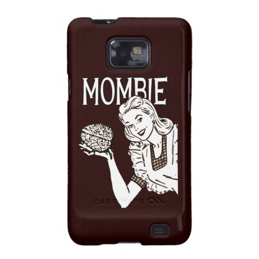 Mombie Retro Zombie Samsung Galaxy SII Covers